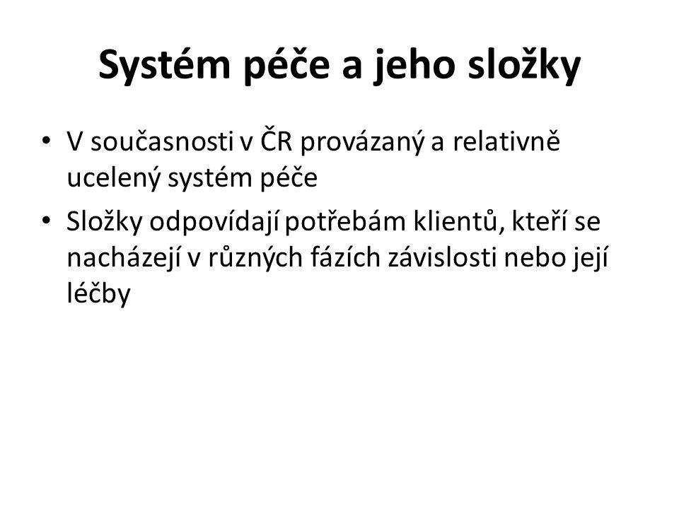 Systém péče a jeho složky