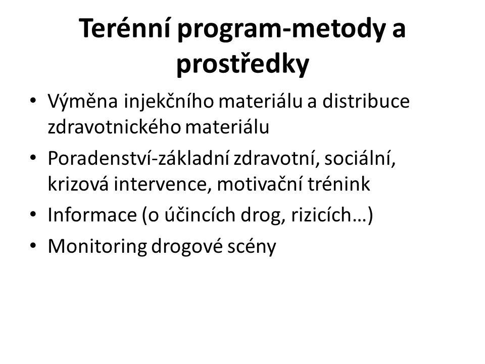 Terénní program-metody a prostředky
