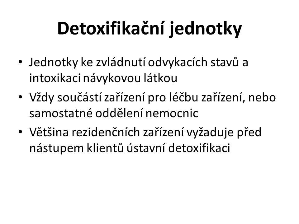 Detoxifikační jednotky