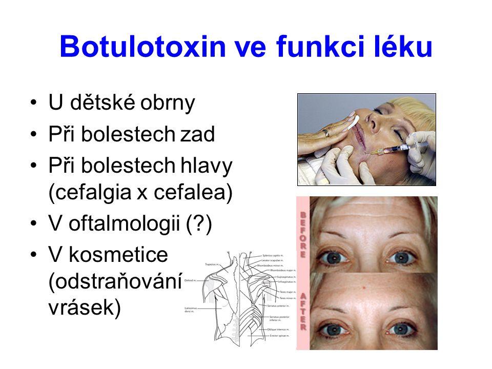 Botulotoxin ve funkci léku