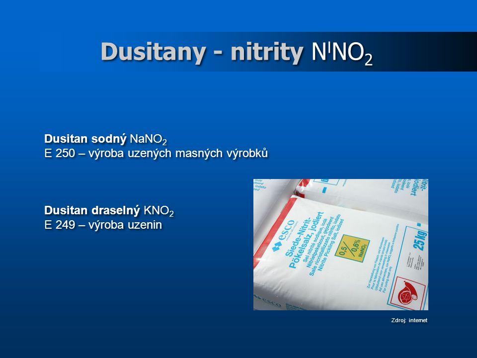 Dusitany - nitrity NINO2