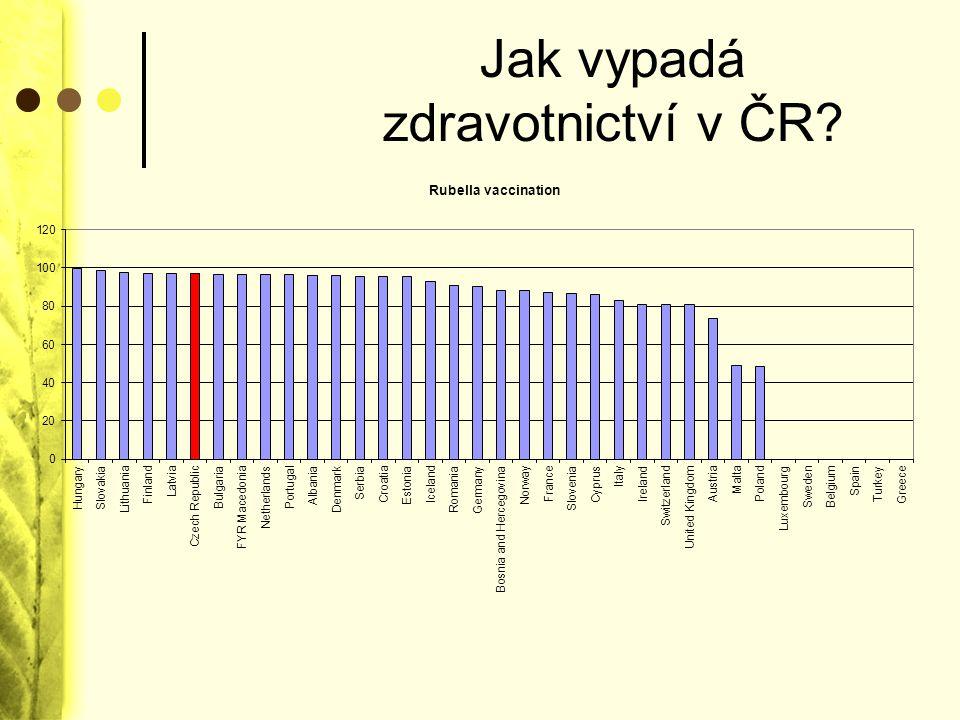 Jak vypadá zdravotnictví v ČR
