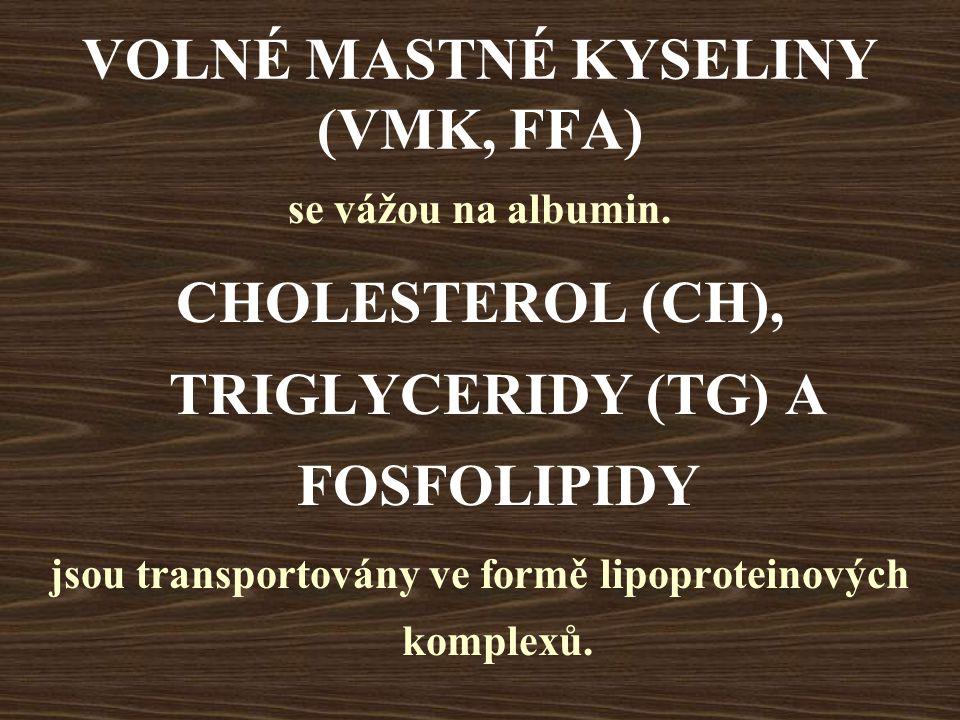 VOLNÉ MASTNÉ KYSELINY (VMK, FFA)