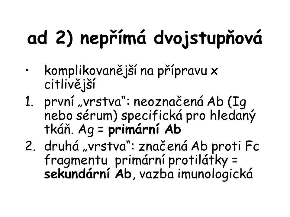 ad 2) nepřímá dvojstupňová