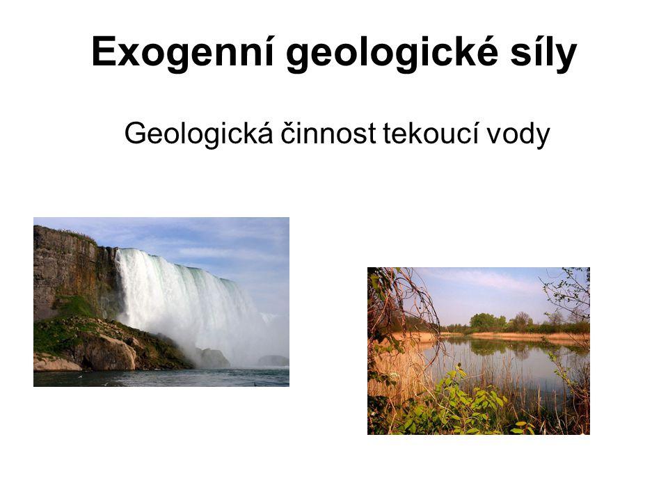 Exogenní geologické síly