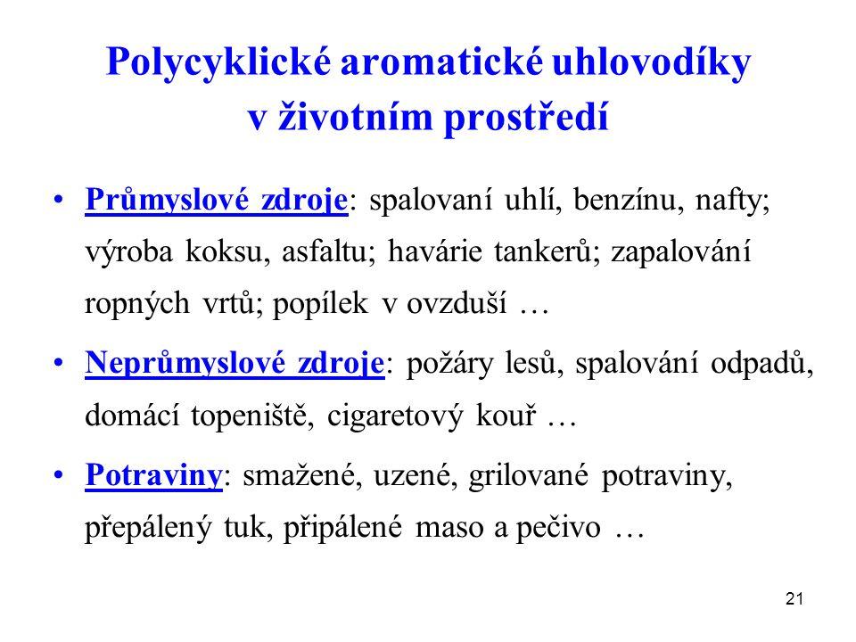 Polycyklické aromatické uhlovodíky v životním prostředí