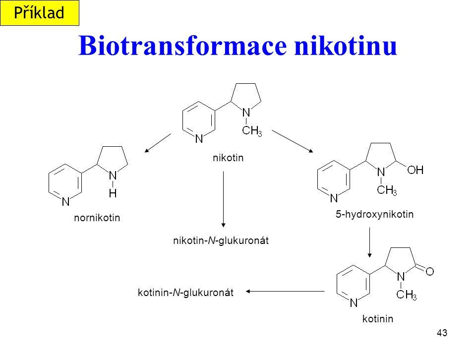 Biotransformace nikotinu