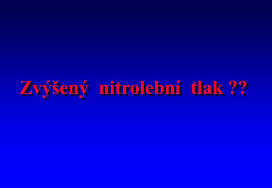 Zvýšený nitrolební tlak