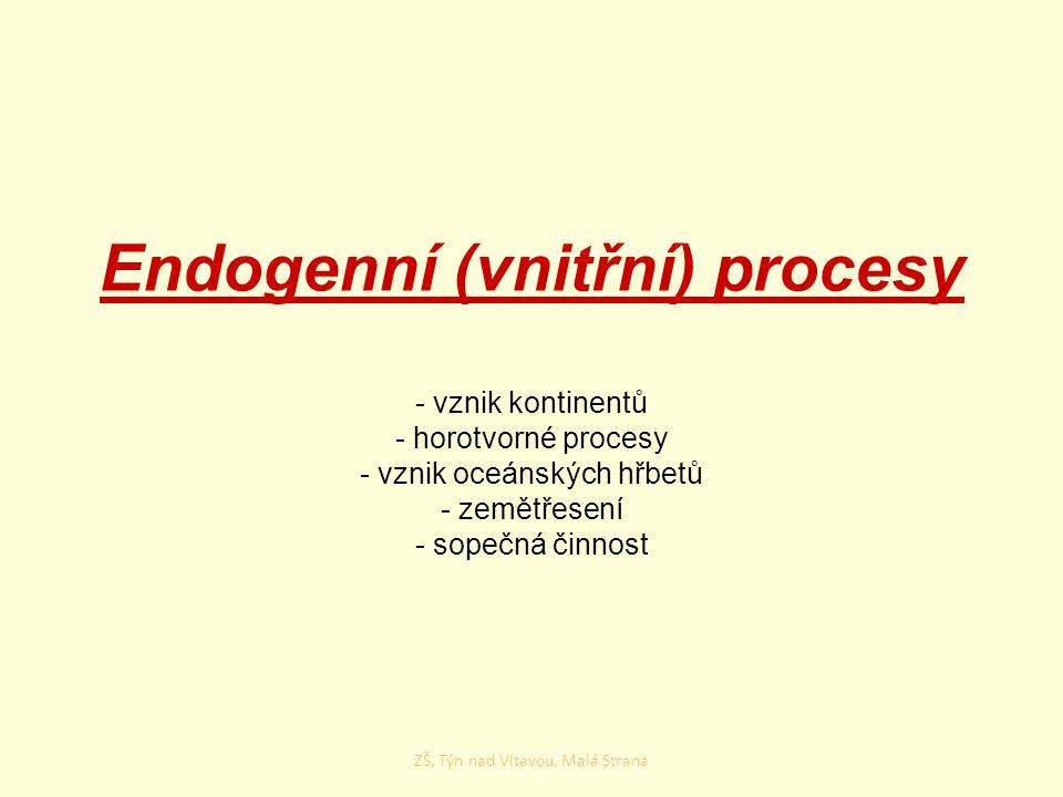 Endogenní (vnitřní) procesy