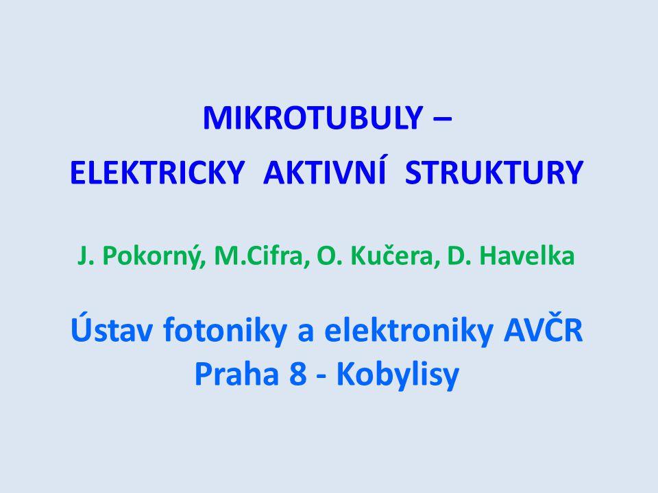 MIKROTUBULY – ELEKTRICKY AKTIVNÍ STRUKTURY J.
