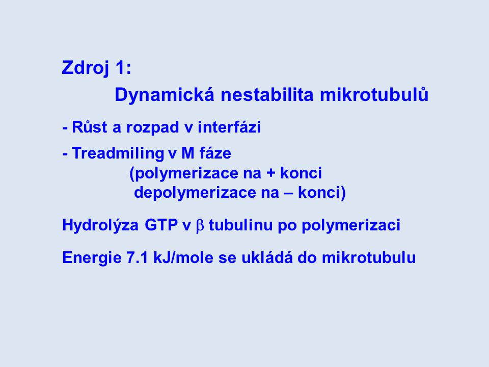 Dynamická nestabilita mikrotubulů