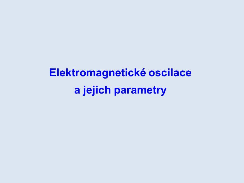 Elektromagnetické oscilace