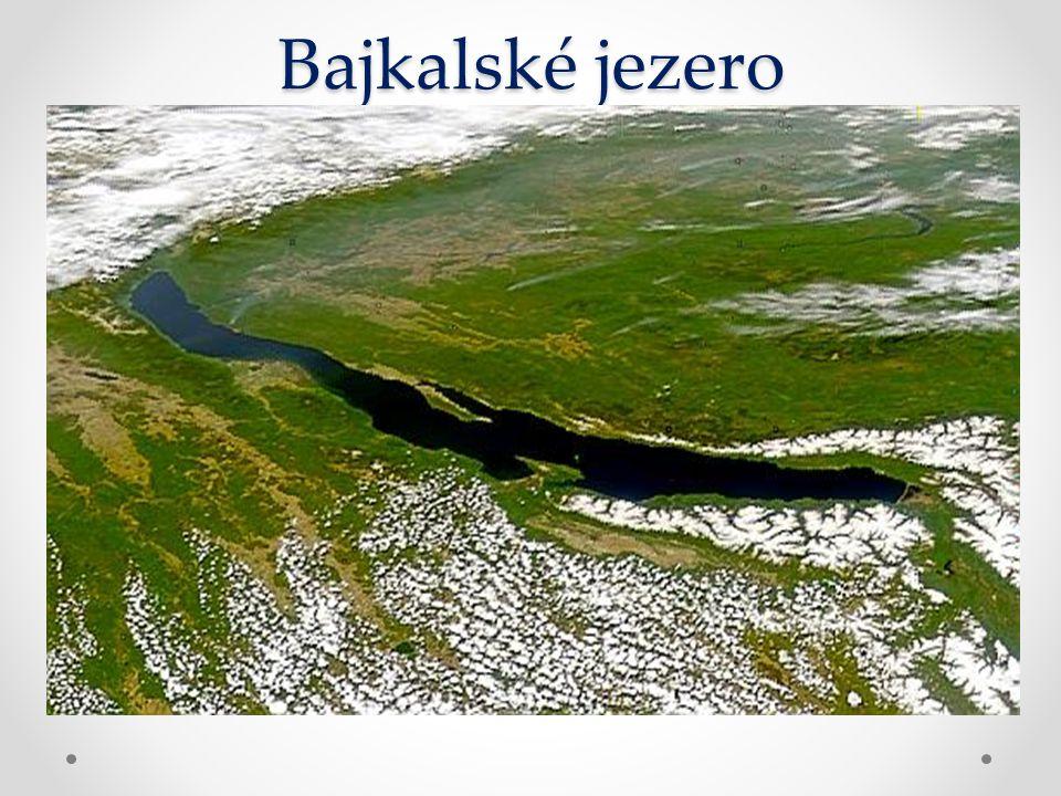 Bajkalské jezero Nejhlubší skrytá proláklina