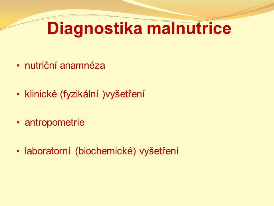 Diagnostika malnutrice