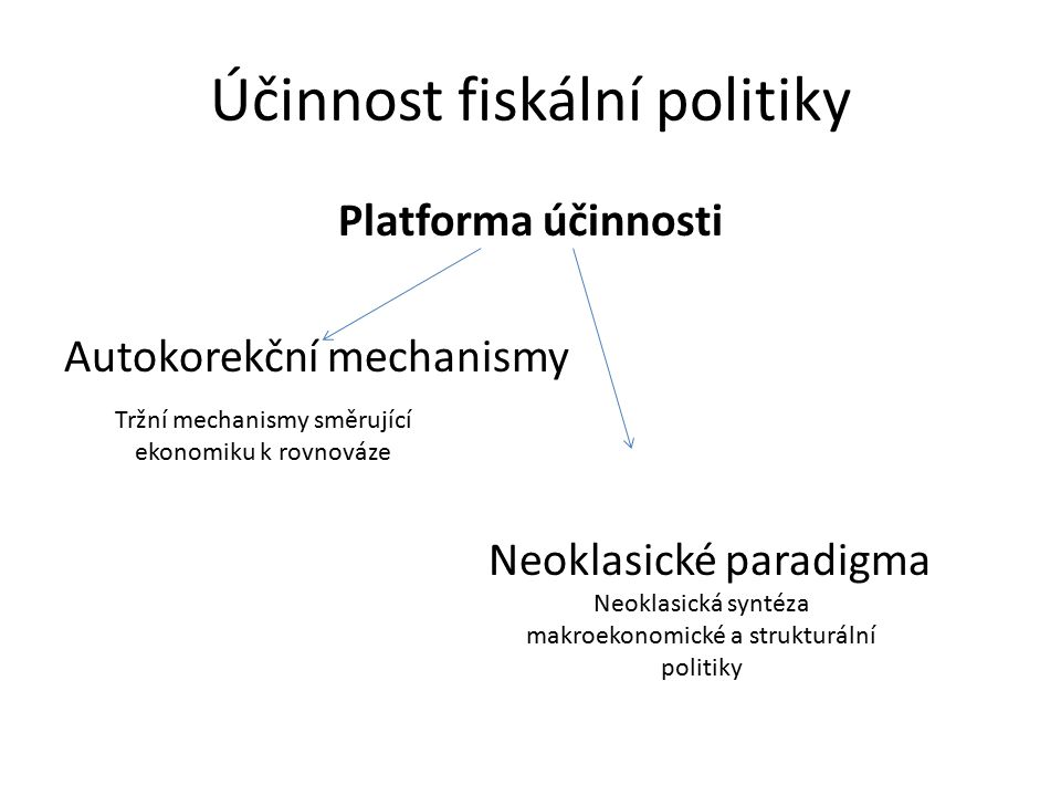 Účinnost fiskální politiky