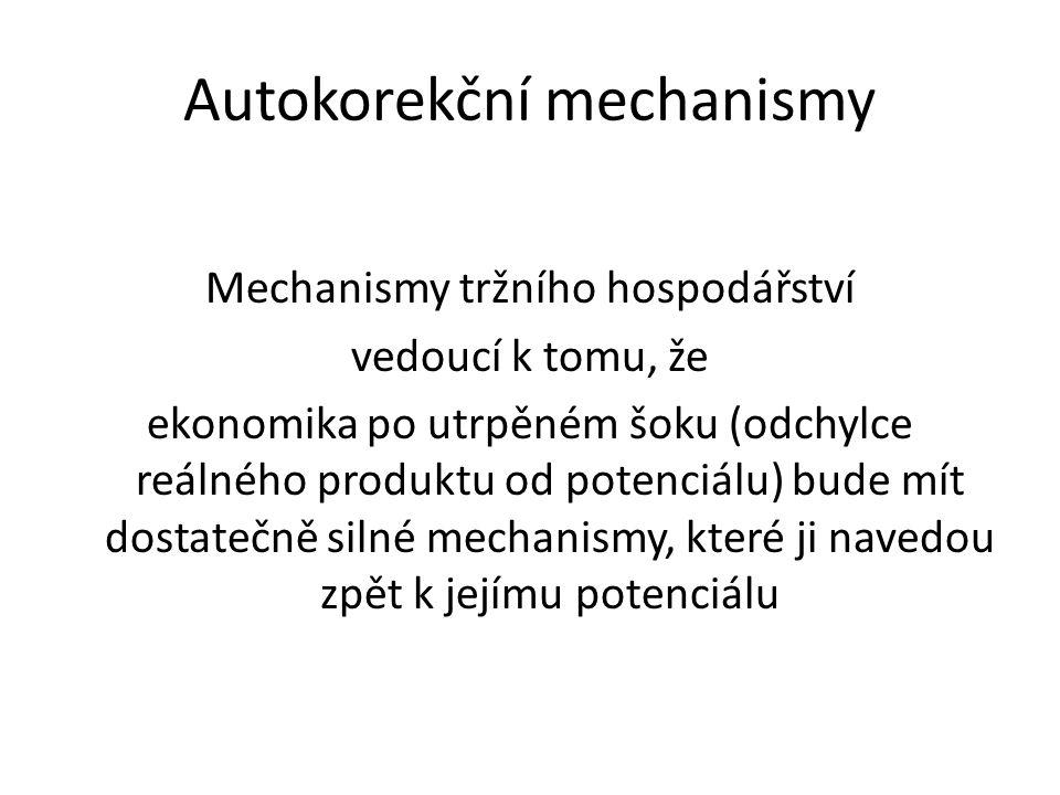 Autokorekční mechanismy