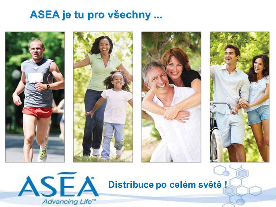 ASEA je tu pro všechny ... Distribuce po celém světě !