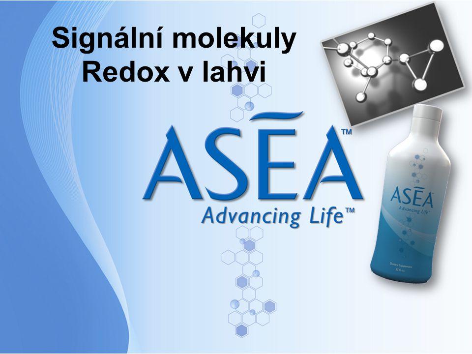Signální molekuly Redox v lahvi