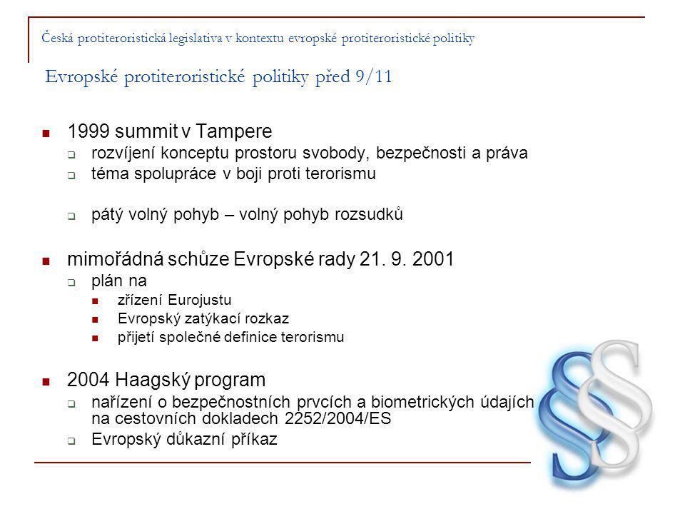 mimořádná schůze Evropské rady 21. 9. 2001