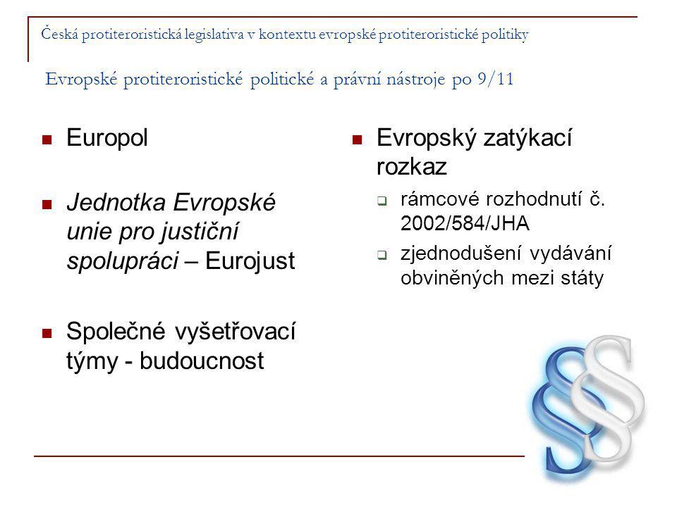 Jednotka Evropské unie pro justiční spolupráci – Eurojust