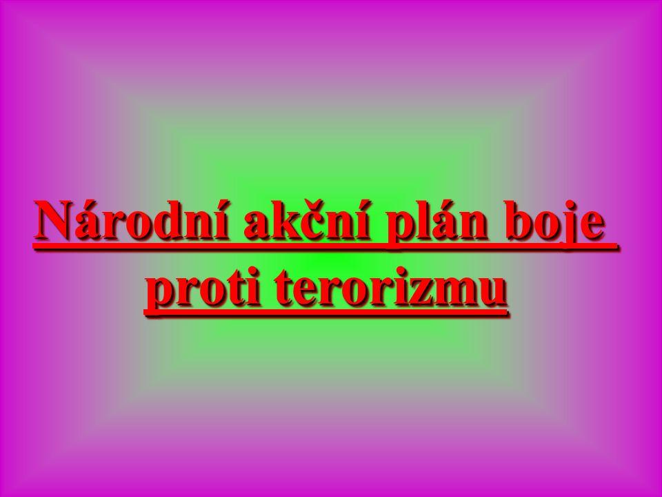 Národní akční plán boje