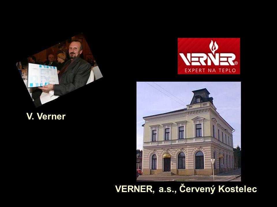 V. Verner VERNER, a.s., Červený Kostelec