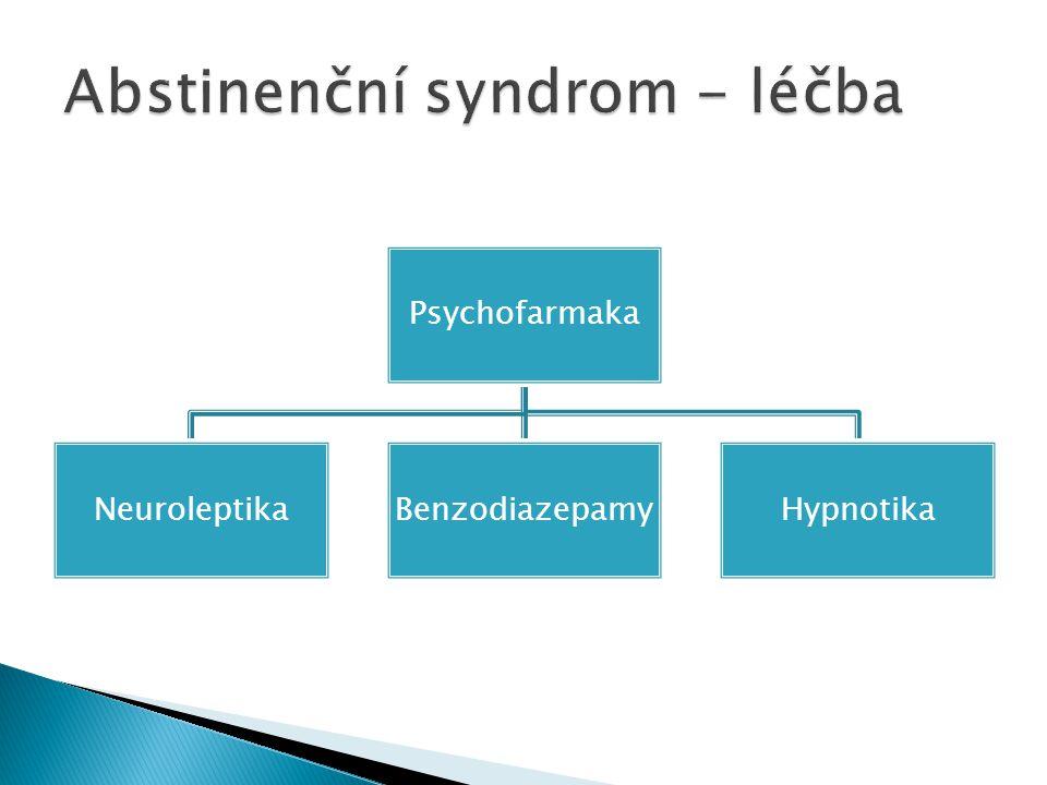 Abstinenční syndrom - léčba