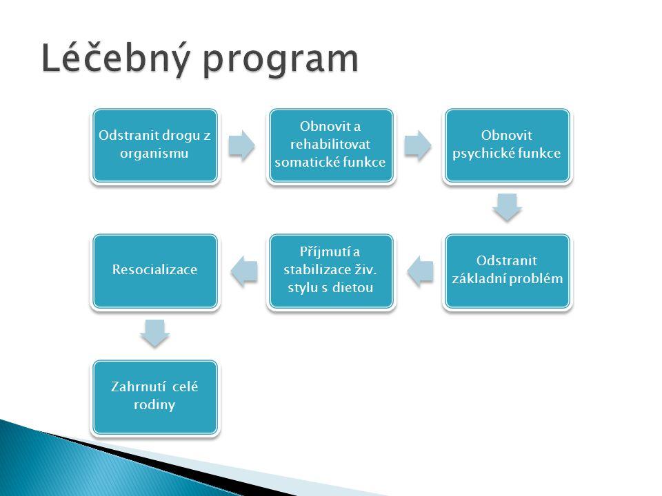 Léčebný program Odstranit drogu z organismu