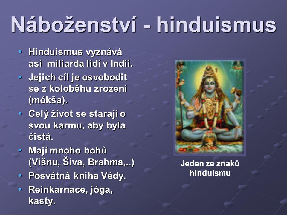 Náboženství - hinduismus
