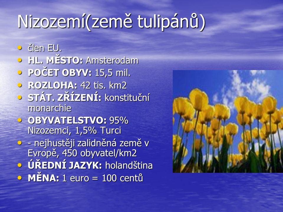 Nizozemí(země tulipánů)