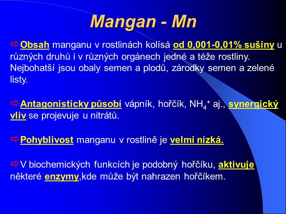 Mangan - Mn