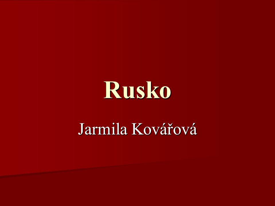 Rusko Jarmila Kovářová