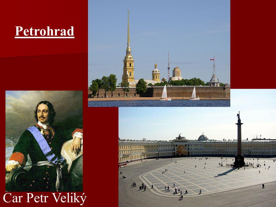 Petrohrad Car Petr Veliký