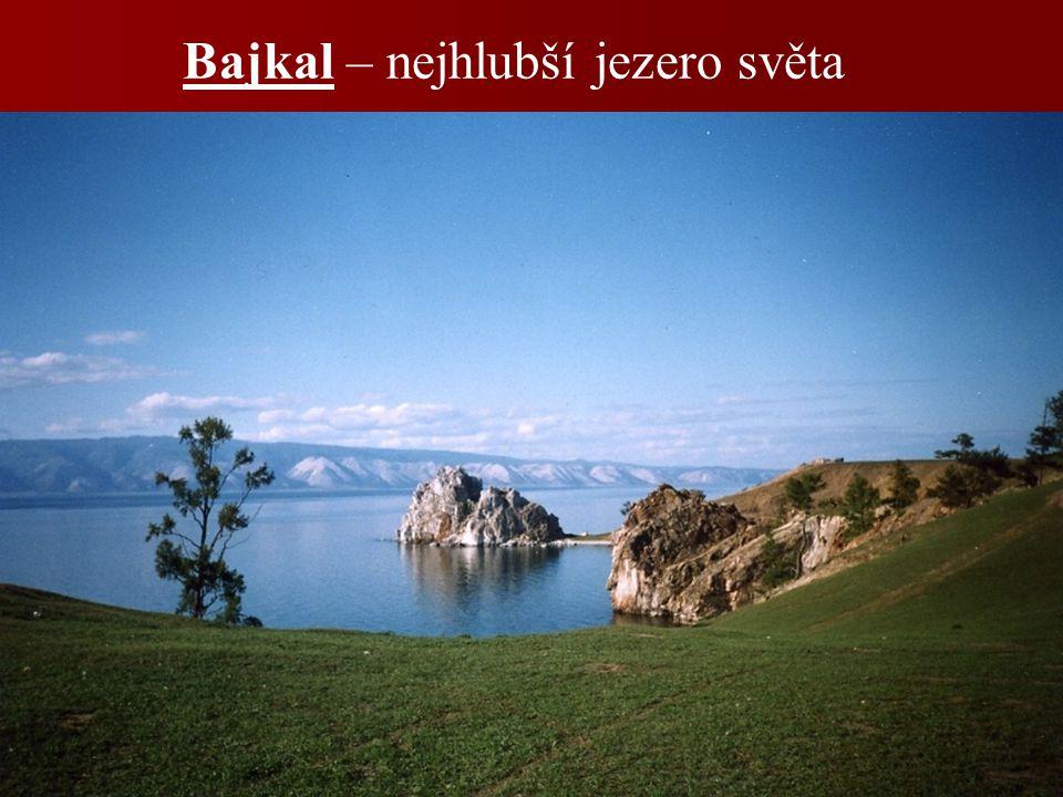 Bajkal – nejhlubší jezero světa