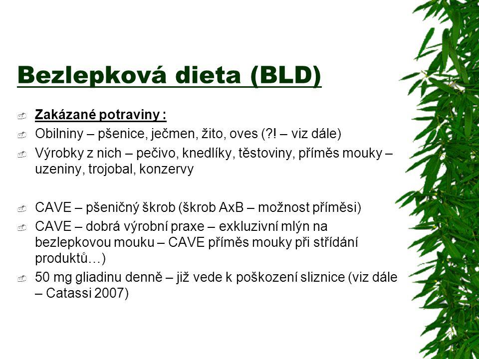 Bezlepková dieta (BLD)