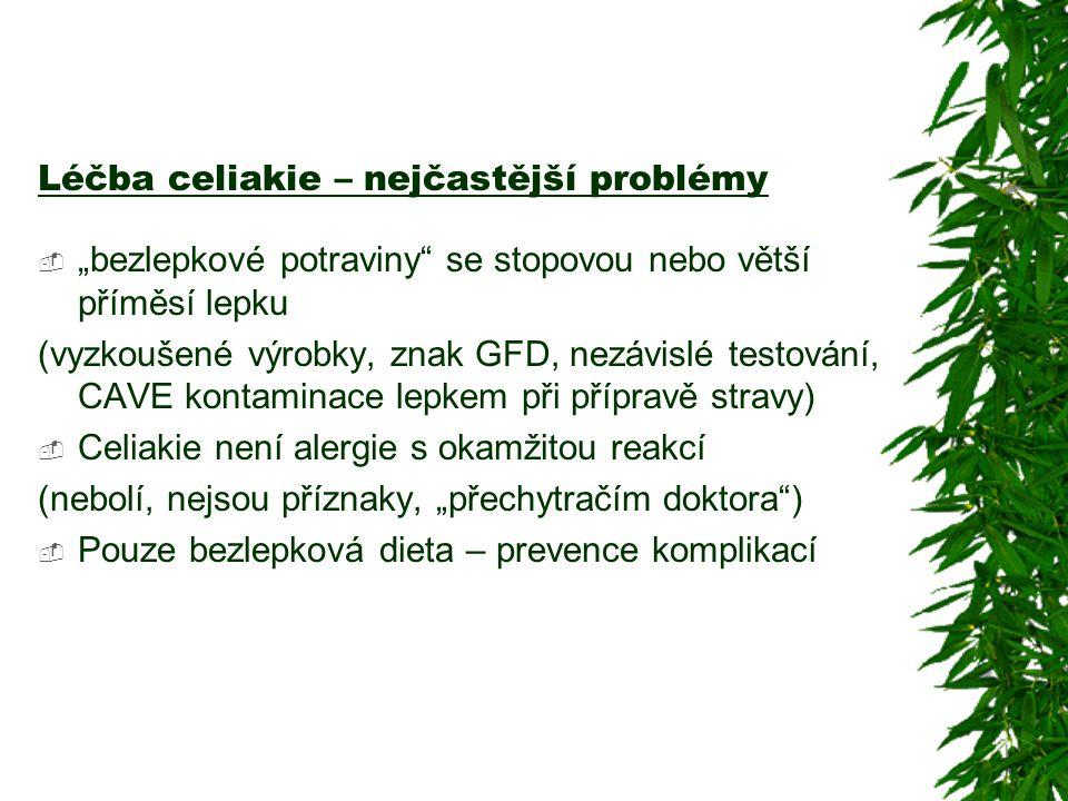 Léčba celiakie – nejčastější problémy