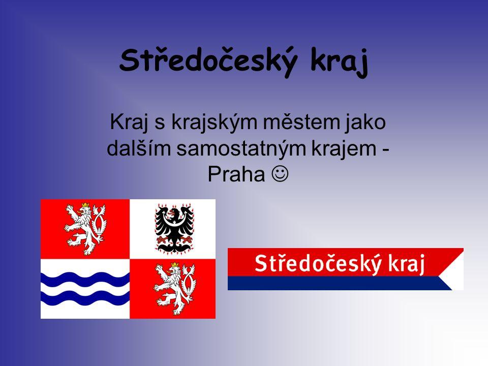 Kraj s krajským městem jako dalším samostatným krajem - Praha 