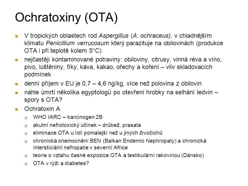 Ochratoxiny (OTA)