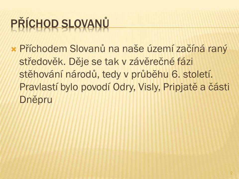 Příchod Slovanů