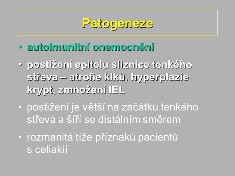 Patogeneze autoimunitní onemocnění