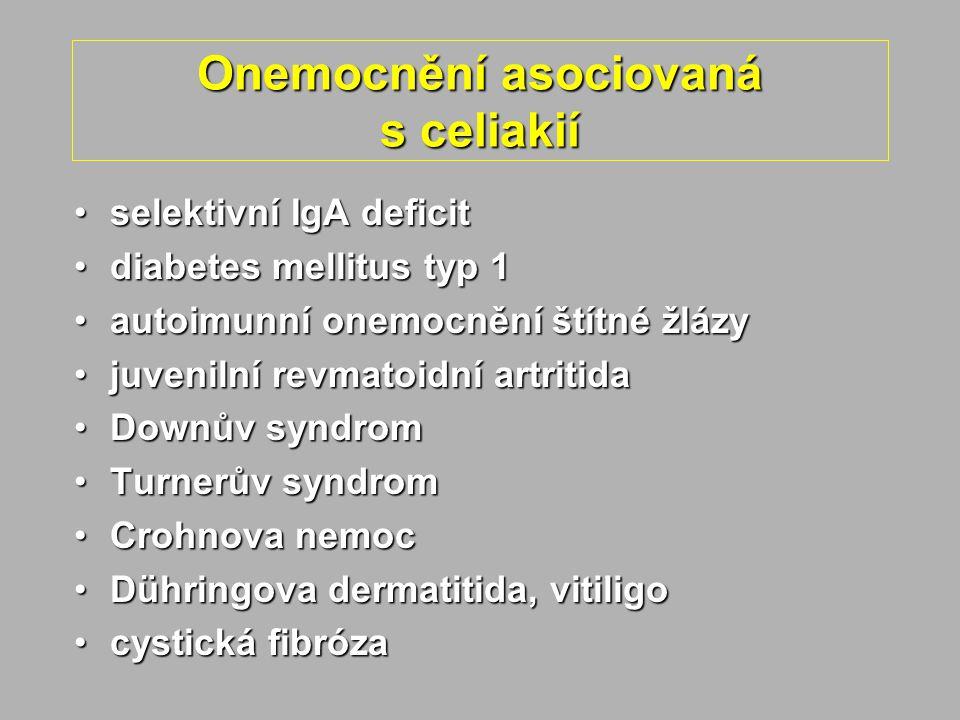 Onemocnění asociovaná s celiakií