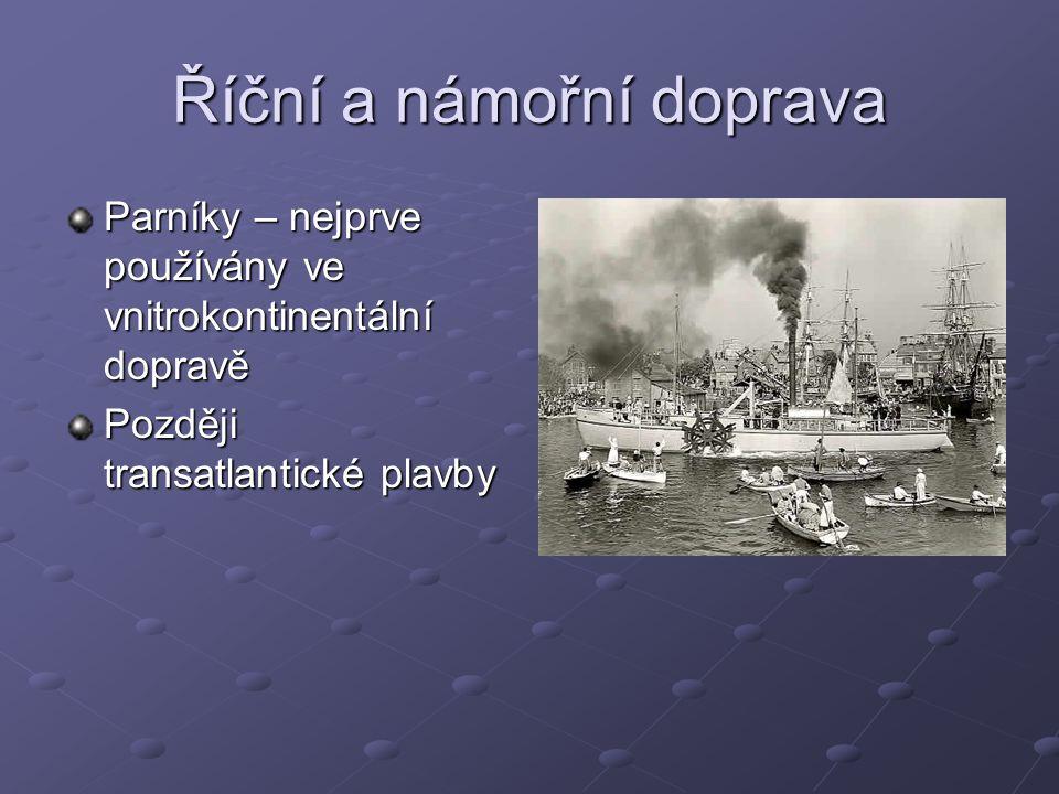 Říční a námořní doprava