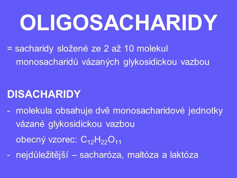 OLIGOSACHARIDY DISACHARIDY