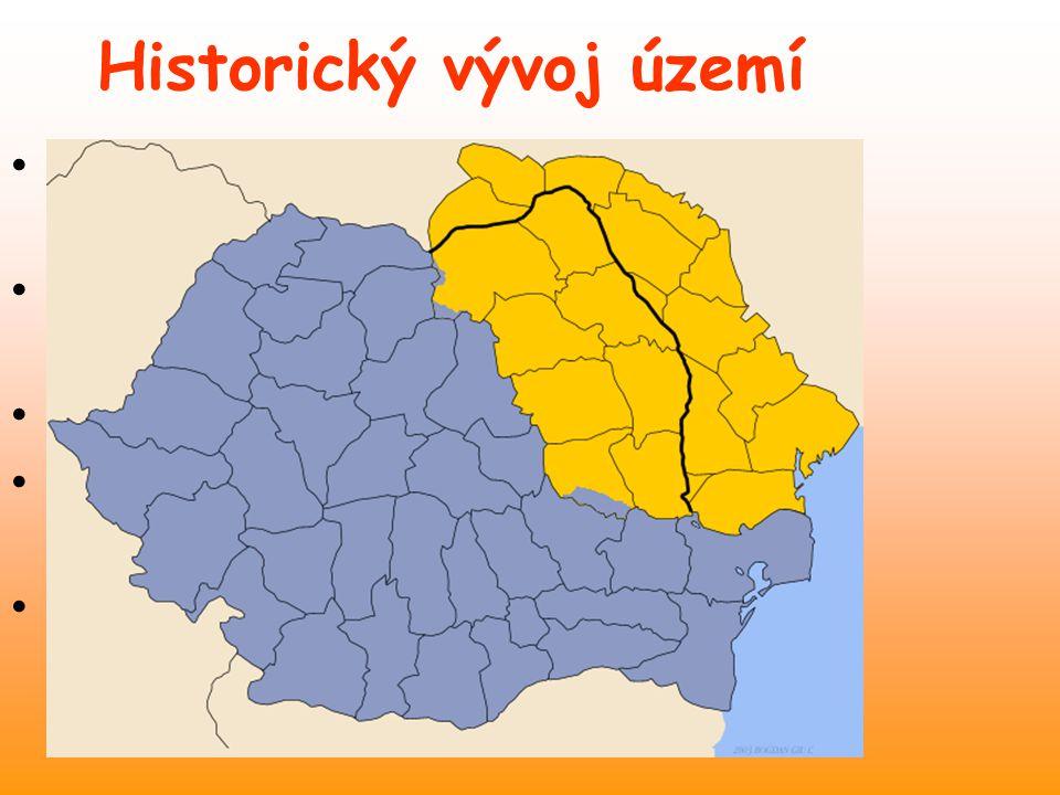 Historický vývoj území
