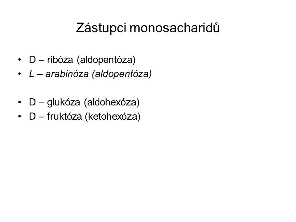 Zástupci monosacharidů