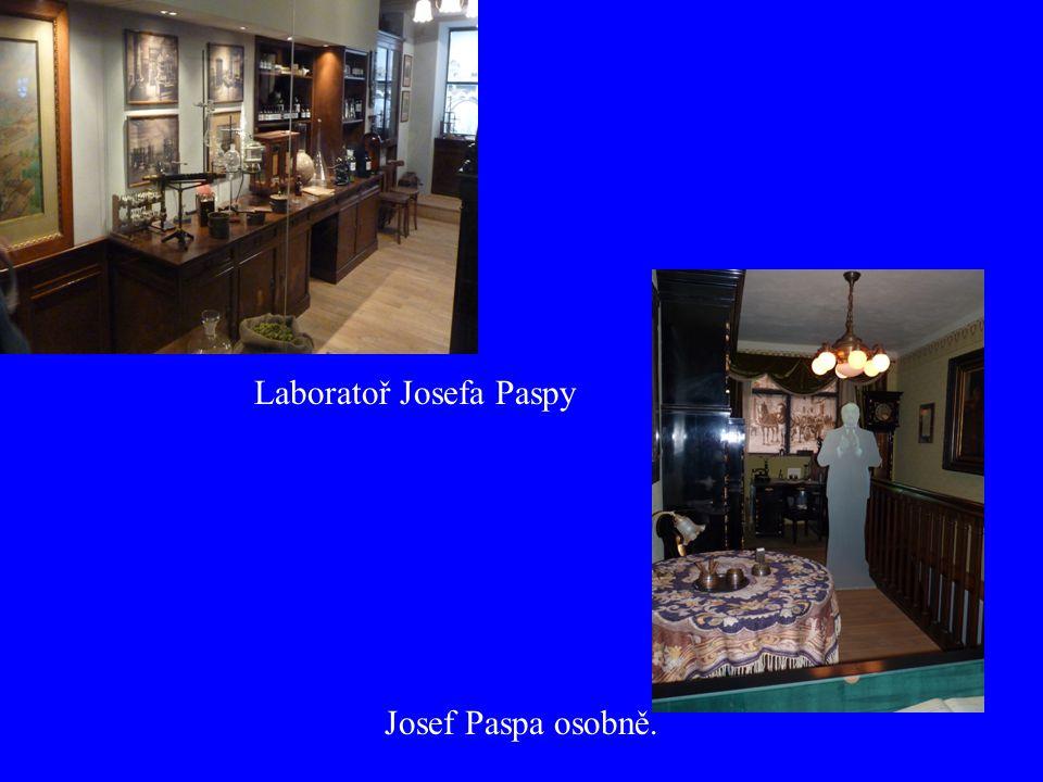 Laboratoř Josefa Paspy