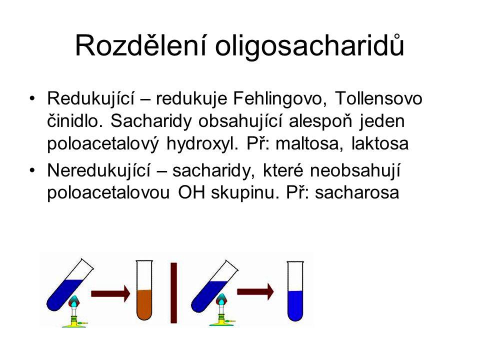 Rozdělení oligosacharidů