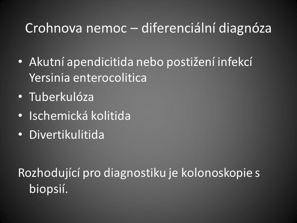 Crohnova nemoc – diferenciální diagnóza