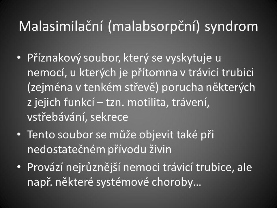 Malasimilační (malabsorpční) syndrom