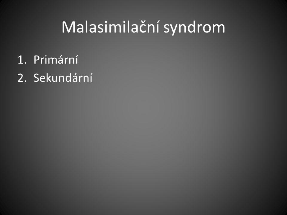 Malasimilační syndrom
